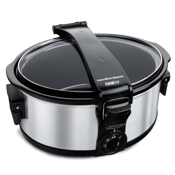 Hamilton Beach Slow Cooker 5.5 L Stay Or Go®