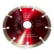 Diamantkapklinga Segmenterad 125 mm sten/betong
