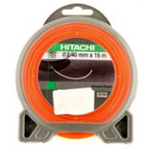 TRIMMERTRÅD HITACHI RUND 2,4MM 15M ORANGE