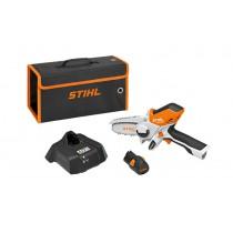 Batteridriven grenkap STIHL GTA 26, set