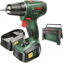 SKRUVDRAGARE PSR 1800 LI-2 BOSCH 2-BATTERI + WORKBOX